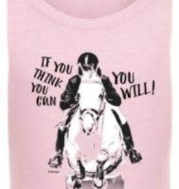 Stirrups If you think you Can You Will T Shirt Kids