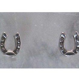 Horseshoe Silver Retro Earring Imitation