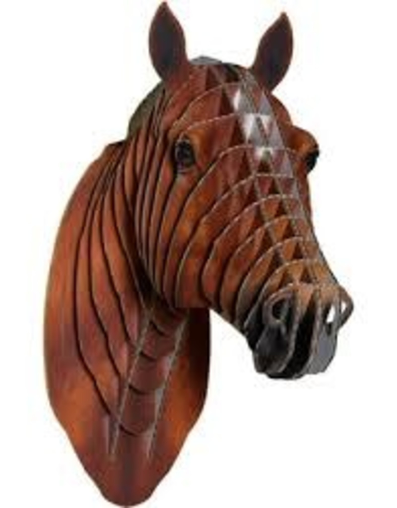 Pippin Sm Cardboard Horse Head Toll Booth Saddle Shop