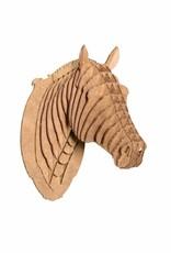 Safari Pippin Nano Sized Cardboard Horse Head