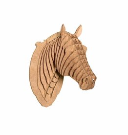 Safari Pippin Nano Sized Cardboard Horse Head