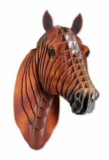Safari Pippin Medium Size Cardboard Horse Head