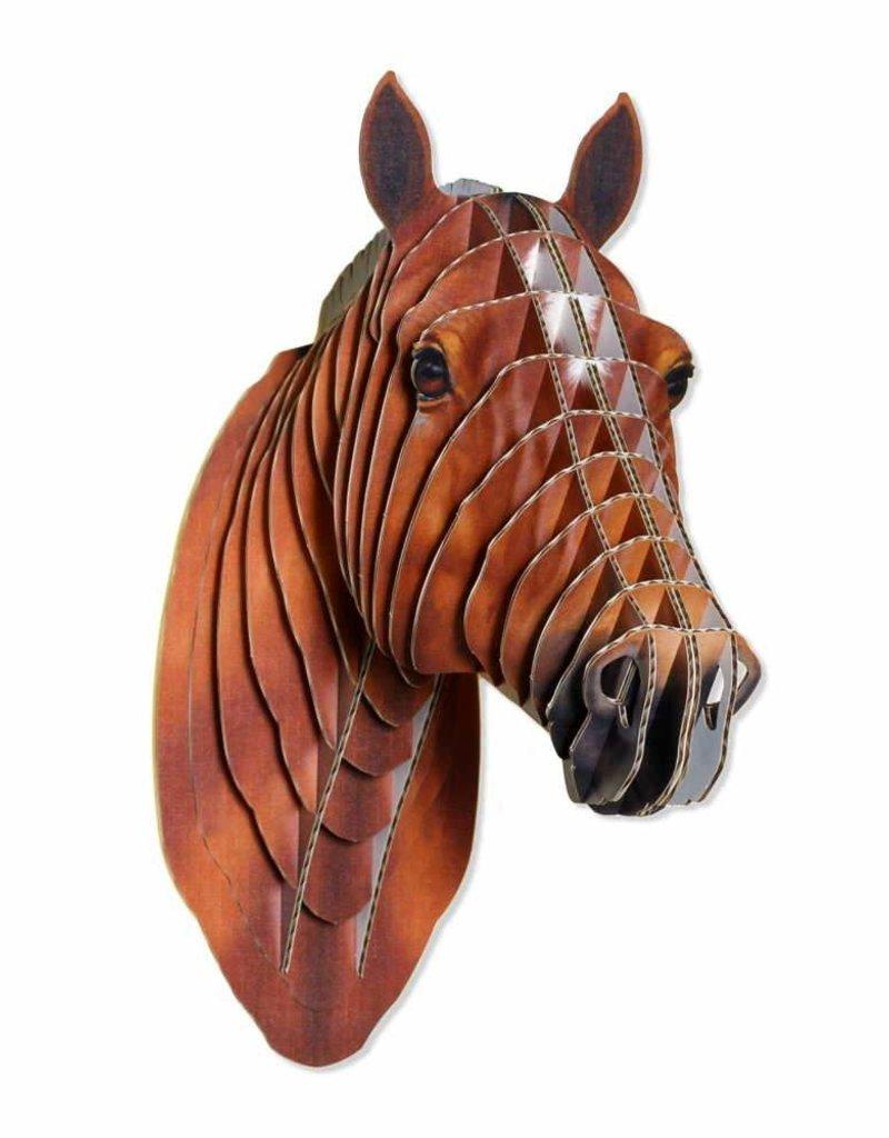 Safari Pippin Medium Size Cardboard Horse Head