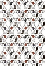 English Theme Wrapping Paper