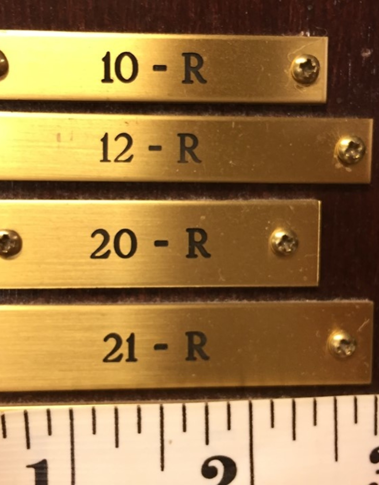 Engraving PLATE 20R AND 21R