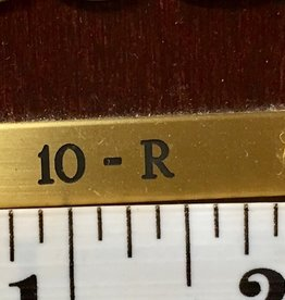 Engraving Plate 10F AND 10R
