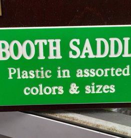 Engraving Plastic Stall Plate 001