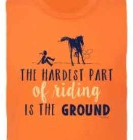 Stirrups T shirt - Equestrian Prep The hardest part of riding