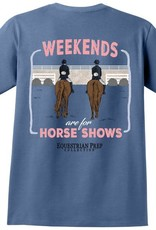 Stirrups T-Shirt Weekends are for Horse Shows