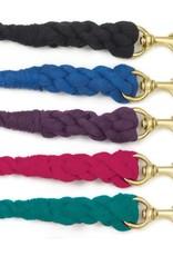 Equi-Essentials 3-Ply Cotton Lead-w/Snap Blue 3/4 x 8 FT