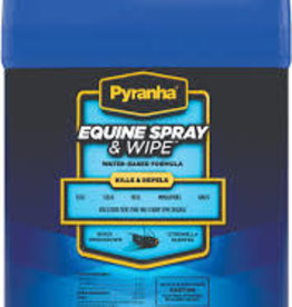 Pyranha Equine Spray & Wipe Insect Spray 1 Gal