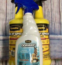 pyraynha Purchase 2 Pyranha Wipe & Spray get an Odaway free