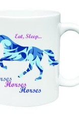Mug Eat Sleep Horses