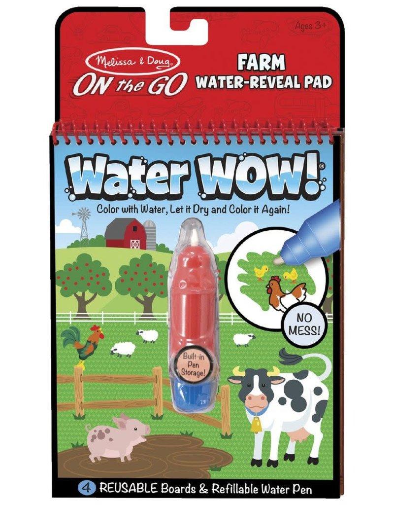 Melissa & Doug Water Wow On the Farm Activity Set