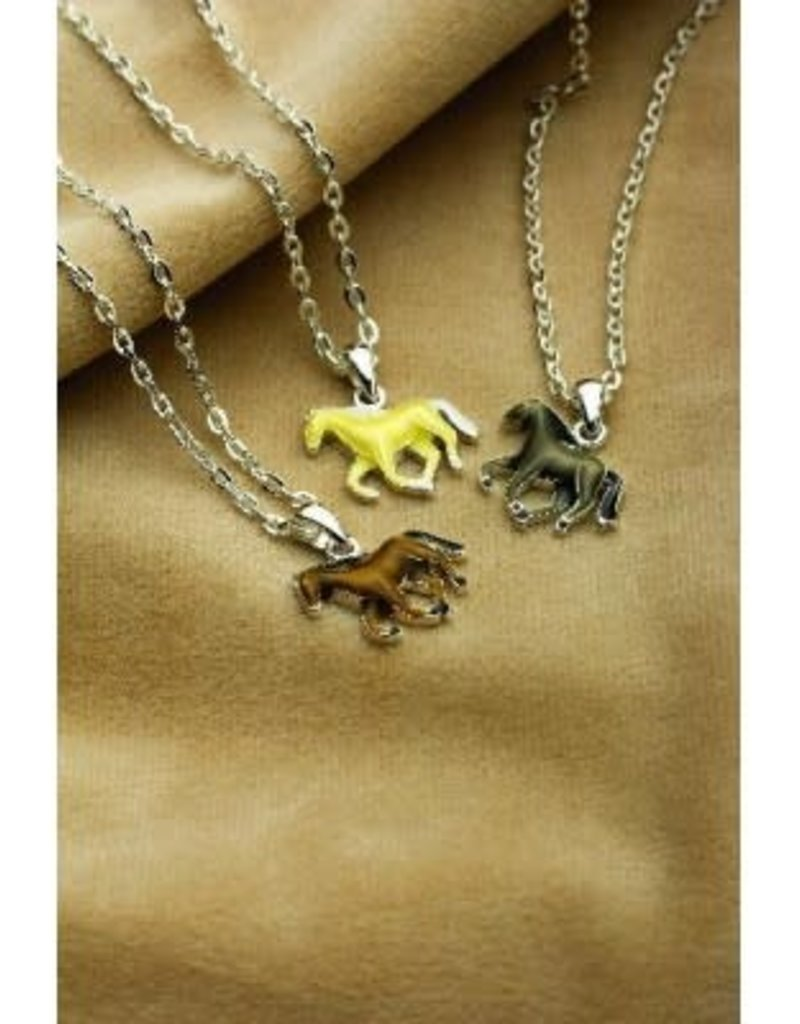 Necklace Galloping horse