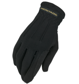 Heritage Power Grip Glove  Black