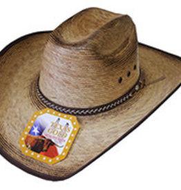 Western Hat Burnt Brim Medium