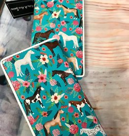 Wallet - Horse with Floral Vinyl