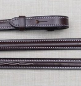 KL Select Red Barn Fancy Laced Reins