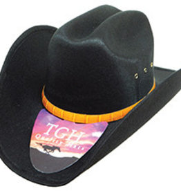 J.R. Palacios Western Hat Felt Taco Style