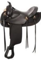 Synthetic Gaited Horse Round Skirt Trail Saddle