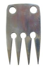 Braid Aid Comb Aluminum