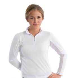 Shirt Ladies Long Sleeve w. mesh