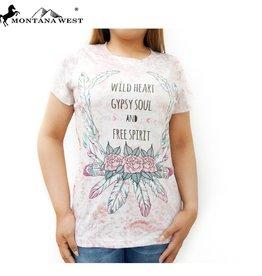 T-Shirt Wild Heart Montana West