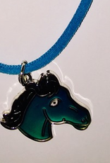 Mood Necklace- Horse Head