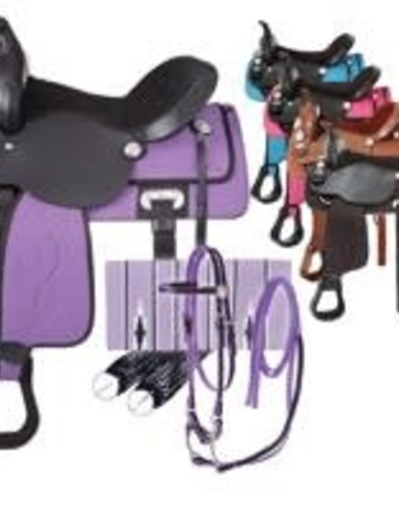 Eclipse by Tough 1 Trail Saddle 5 Piece Package