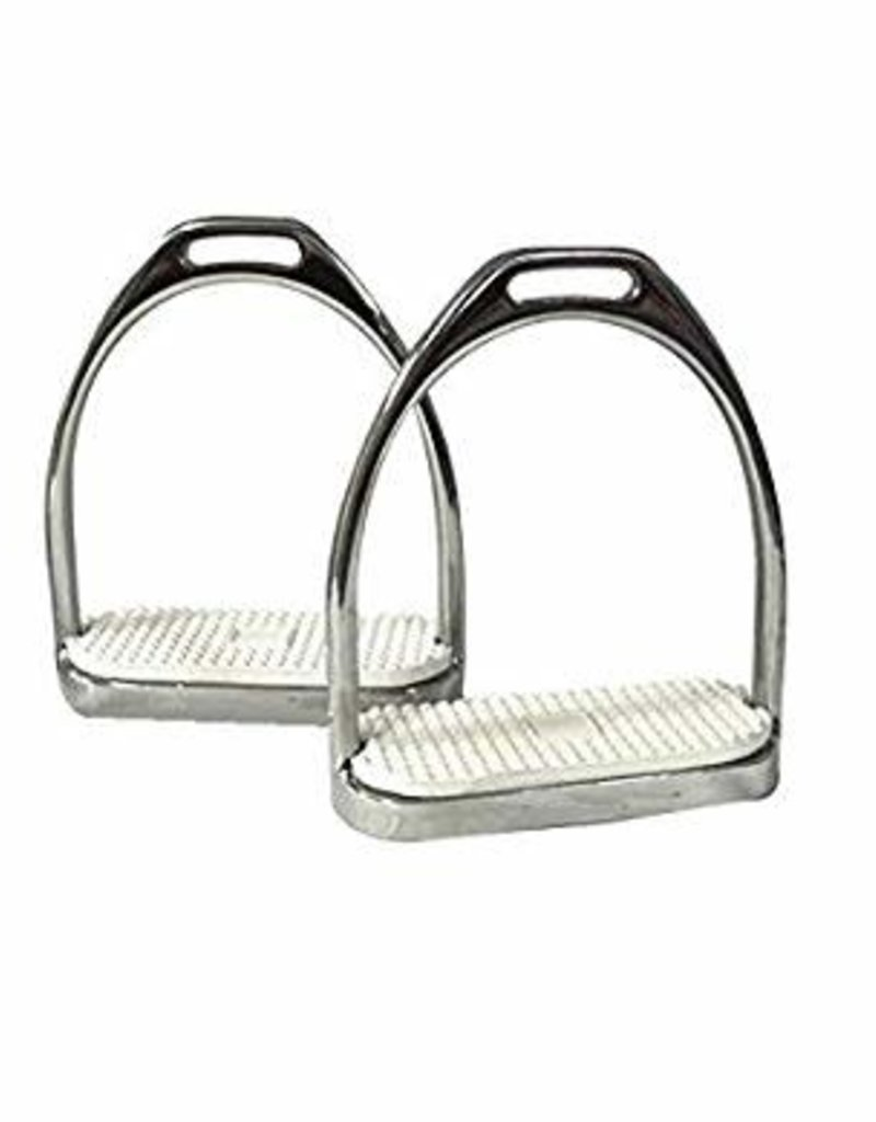 Fillis Style Stirrup Irons Stainless