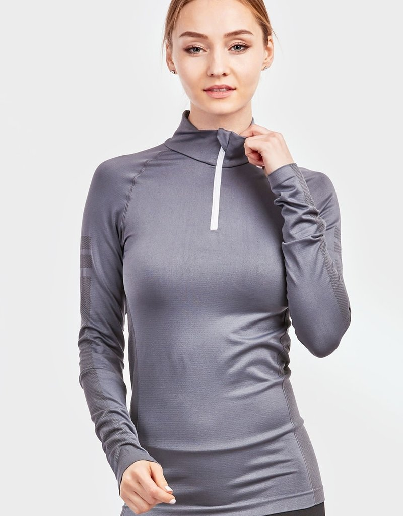 Seamless 1/4Zip Active Pullover
