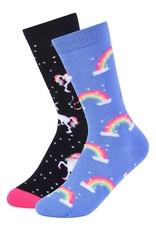 Childrens Socks Unicorn Crew