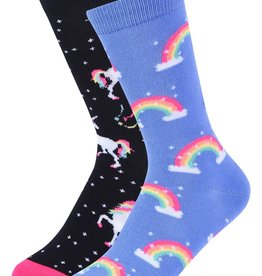 Childrens Socks Unicorn Crew