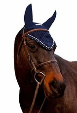 Equine Coutoure Equine couture Fly Bonnet W/Pearls & Crystals