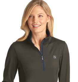 Romfh Ladies Aachen Mock Zip LS Shirt