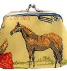 Coin Purse Horse Tapestry
