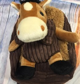 Plush Backpack with Removable  Horse