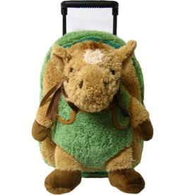 Plush Horse Roller Backpack w/  horse