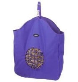 Hay Bag Tote w/ net blue