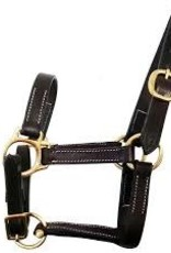 Leather Halter Gatsby No Snap Cob