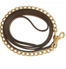 Collegiate Leather Lead brass chain