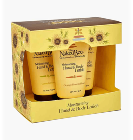 Naked Bee Hand & Body Lotion set