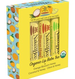 Lip Balm 3-Pack Naked Bee