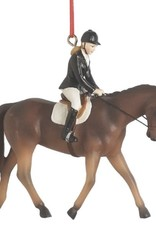 English Riding Dressage Ornament