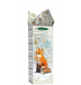 Woodland Christmas Bottle Bag