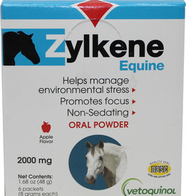 Zylkene Equine 2000mg 6pack Apple