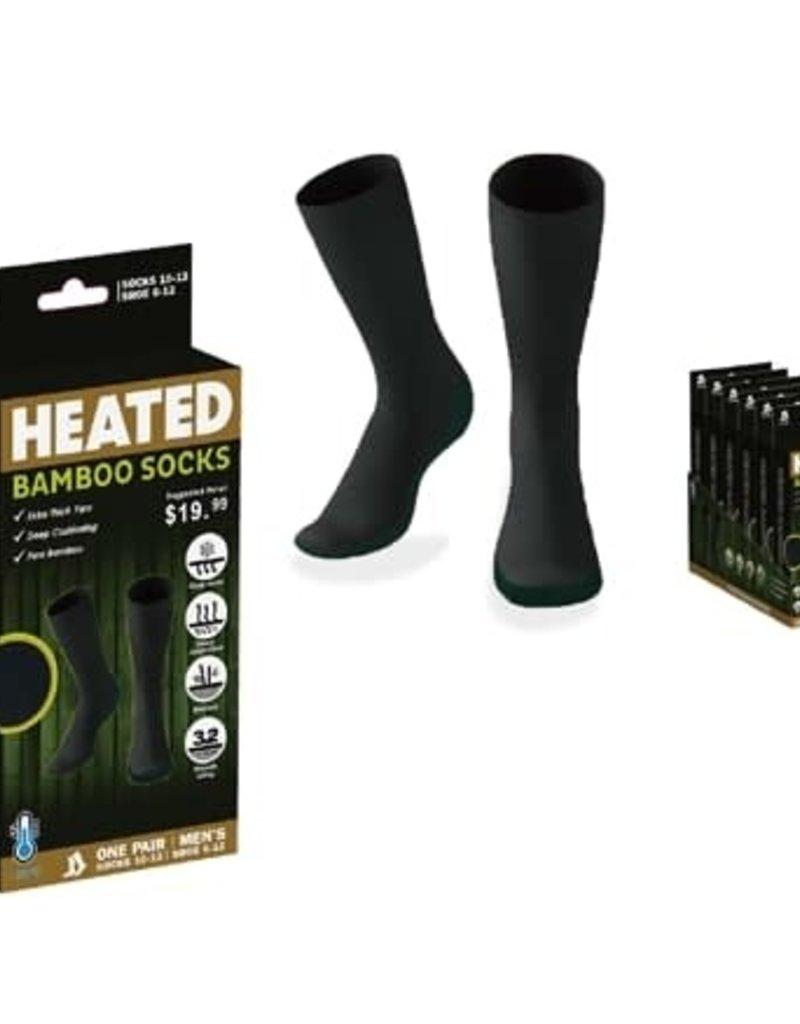 Heated Bamboo Socks sz 9-11