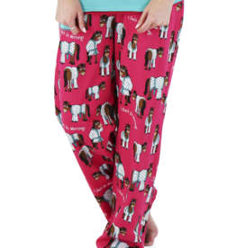 lazy One Don't Do Mornings - Horse | Women's Regular Fit Pant