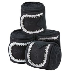 Fleece Bling Bandage 4 pk